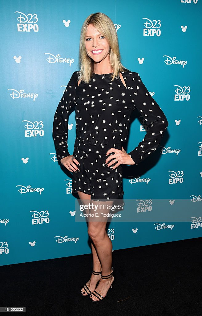 Actress Kaitlin Olson of FINDING DORY took part today in 'Pixar and Walt Disney Animation Studios: The Upcoming Films' presentation at Disney's D23 EXPO 2015 in Anaheim, Calif.