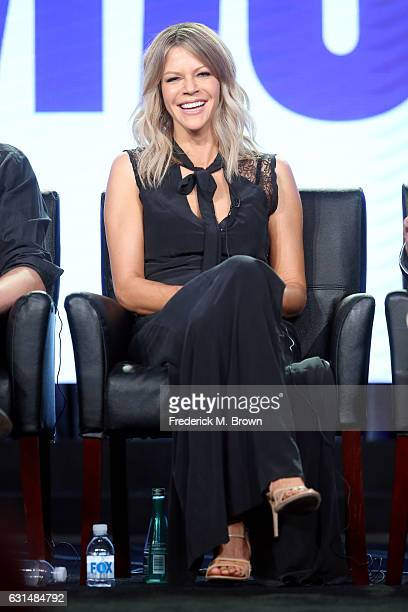 Actress Kaitlin Olson of the television show 'The Mick' speaks onstage during the FOX portion of the 2017 Winter Television Critics Association Press...