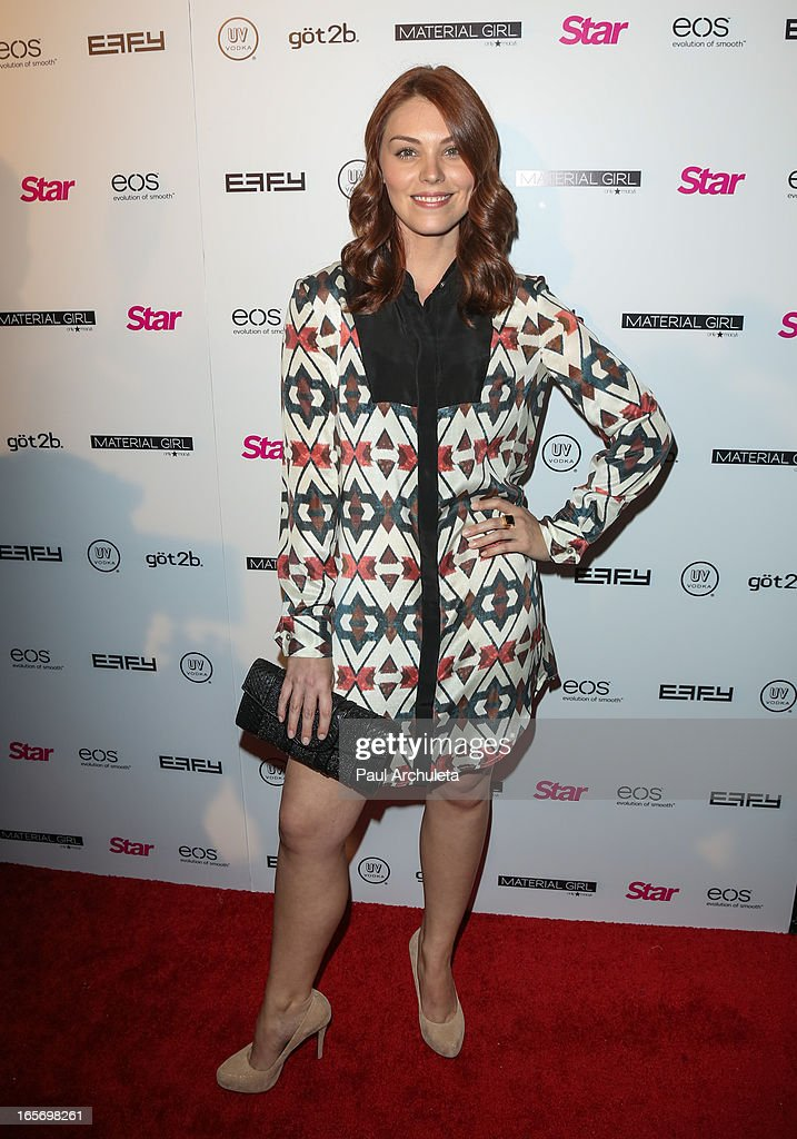Actress Kaitlyn Black attends Star Magazine's 'Hollywood Rocks' party at Playhouse Hollywood on April 4, 2013 in Los Angeles, California.