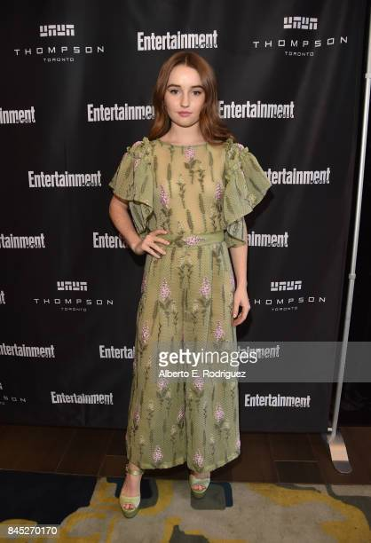 Actress Kaitlyn Dever attends Entertainment Weekly's Must List Party during the Toronto International Film Festival 2017 at the Thompson Hotel on...