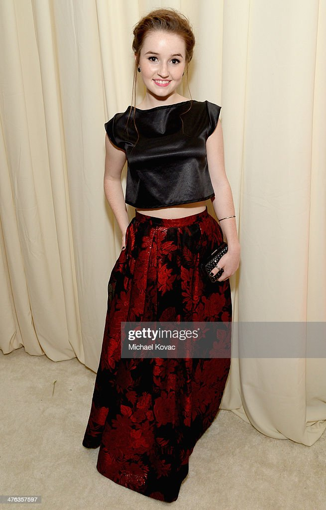 Actress Kaitlyn Dever attends the 22nd Annual Elton John AIDS Foundation Academy Awards Viewing Party at The City of West Hollywood Park on March 2, 2014 in West Hollywood, California.