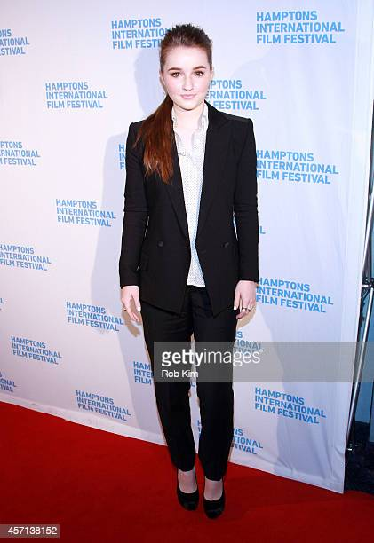 Actress Kaitlyn Dever attends the Laggies premiere during the 2014 Hamptons International Film Festival on October 12 2014 in East Hampton New York