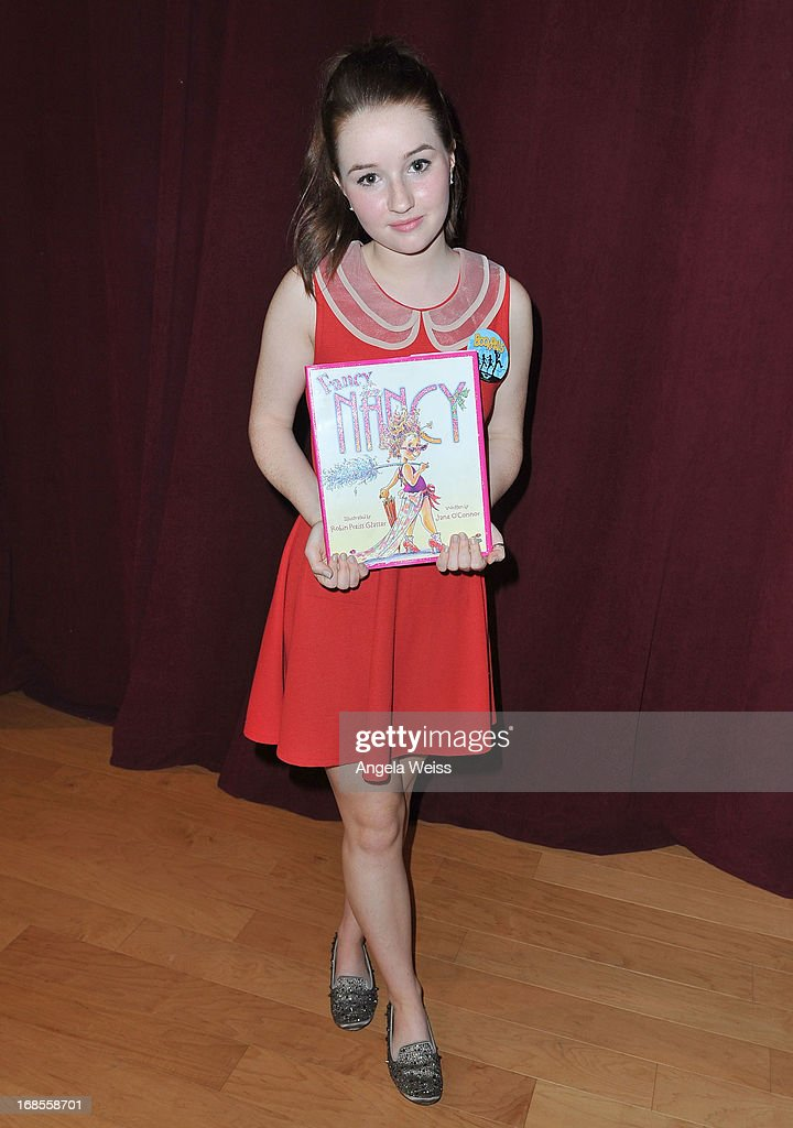 Actress Kaitlyn Dever attends the Screen Actors Guild Foundation 20 Years Of BookPALS celebration at West Hollywood City Council Chamber on May 11, 2013 in West Hollywood, California.