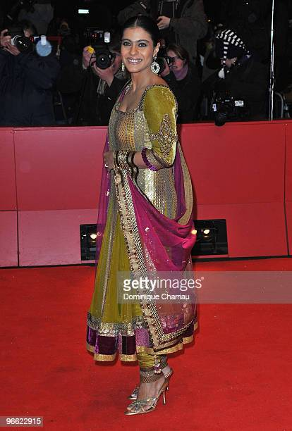 Actress Kajol Devgan attends the 'My Name Is Khan' Premiere during day two of the 60th Berlin International Film Festival at the Berlinale Palast on...
