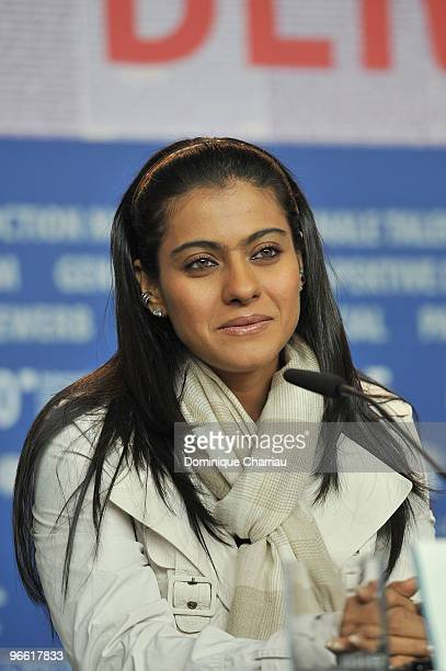 Actress Kajol Devgen attends the 'My Name Is Khan' Press Conference during day two of the 60th Berlin International Film Festival at the Grand Hyatt...