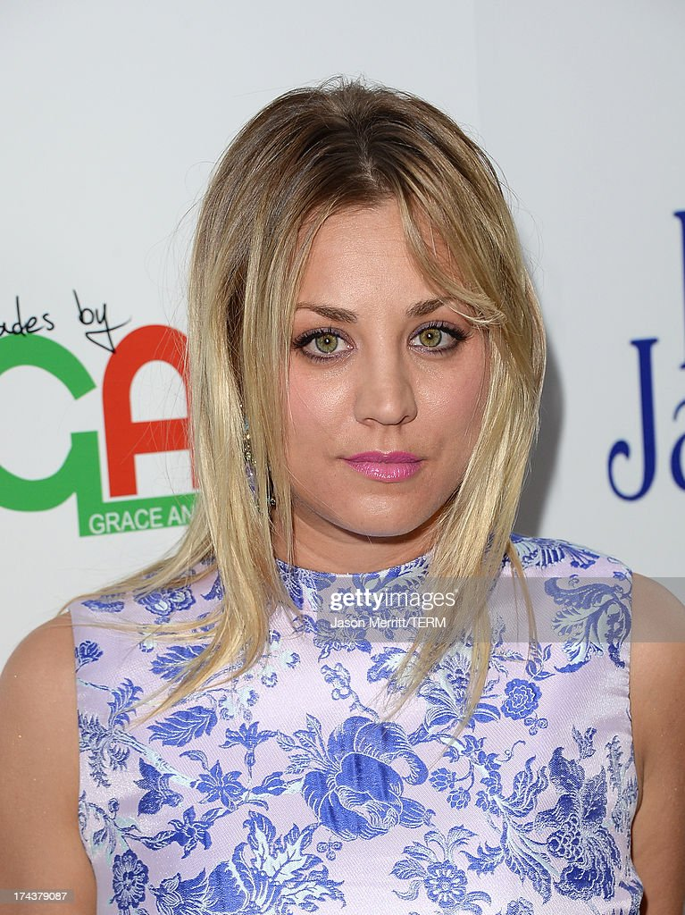 Actress Kaley Cuoco arrives at the premiere of 'Blue Jasmine' hosted by AFI & Sony Picture Classics at AMPAS Samuel Goldwyn Theater on July 24, 2013 in Beverly Hills, California.