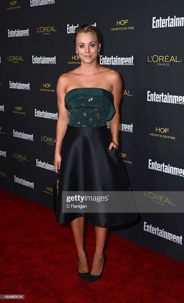 Actress Kaley Cuoco attends the 2014 Entertainment Weekly Pre-Emmy Party at Fig & Olive Melrose Place on August 23, 2014 in West Hollywood, California.