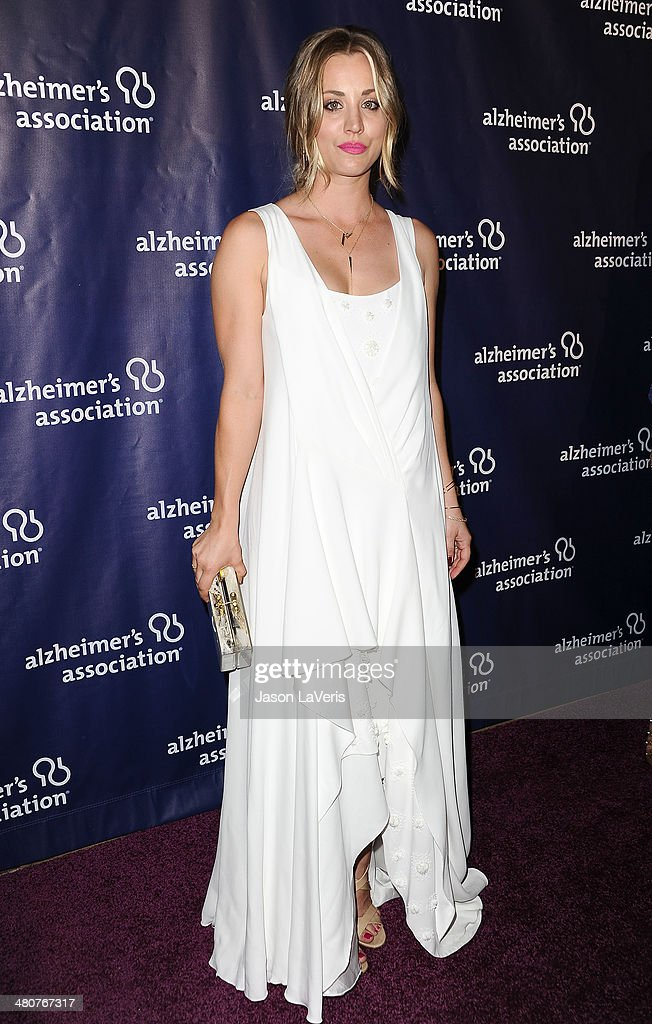 Actress Kaley Cuoco attends the 22nd 'A Night At Sardi's' at The Beverly Hilton Hotel on March 26, 2014 in Beverly Hills, California.