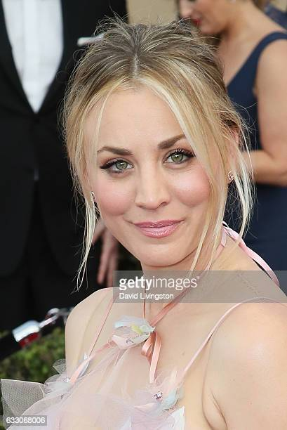 Actress Kaley Cuoco attends the 23rd Annual Screen Actors Guild Awards at The Shrine Expo Hall on January 29 2017 in Los Angeles California