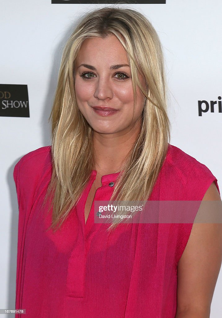 Actress <a gi-track='captionPersonalityLinkClicked' href=/galleries/search?phrase=Kaley+Cuoco&family=editorial&specificpeople=208988 ng-click='$event.stopPropagation()'>Kaley Cuoco</a> attends the 23rd Annual William Shatner Priceline Hollywood Charity Horse Show at the Los Angeles Equestrian Center on April 27, 2013 in Los Angeles, California.