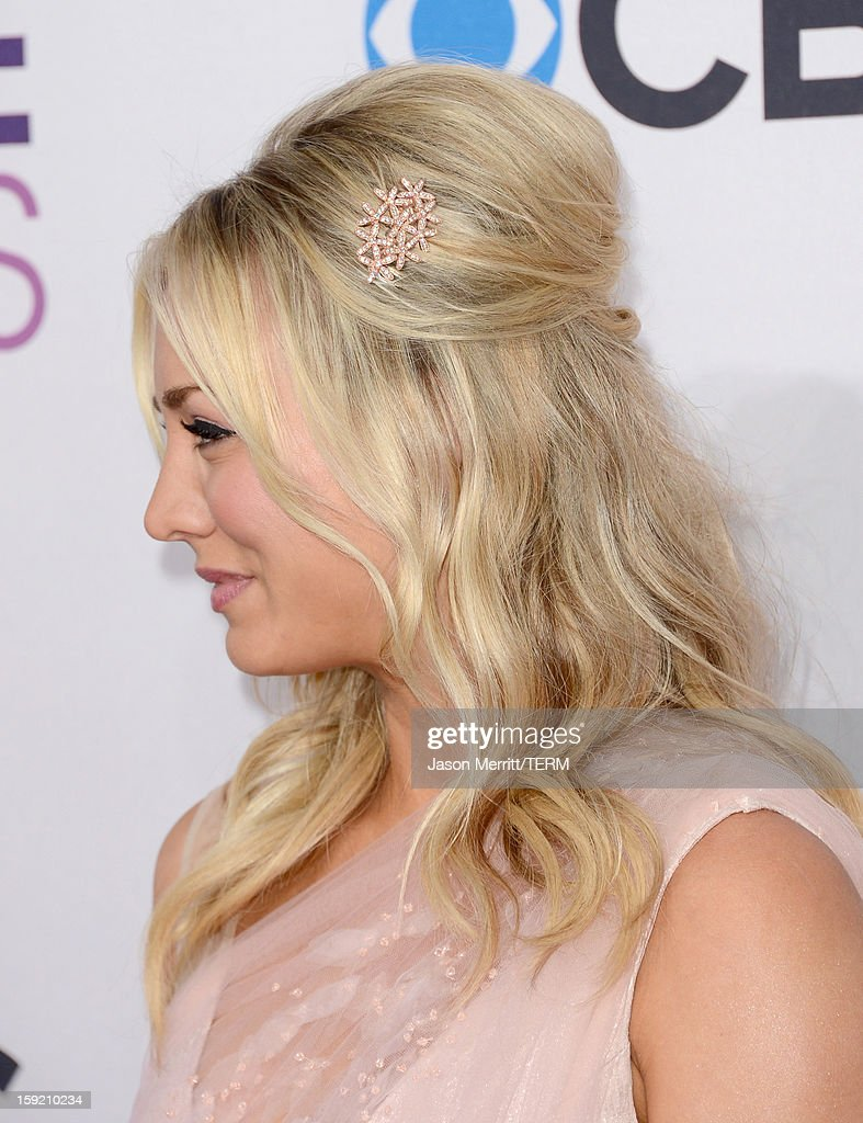 Actress Kaley Cuoco attends the 39th Annual People's Choice Awards at Nokia Theatre L.A. Live on January 9, 2013 in Los Angeles, California.