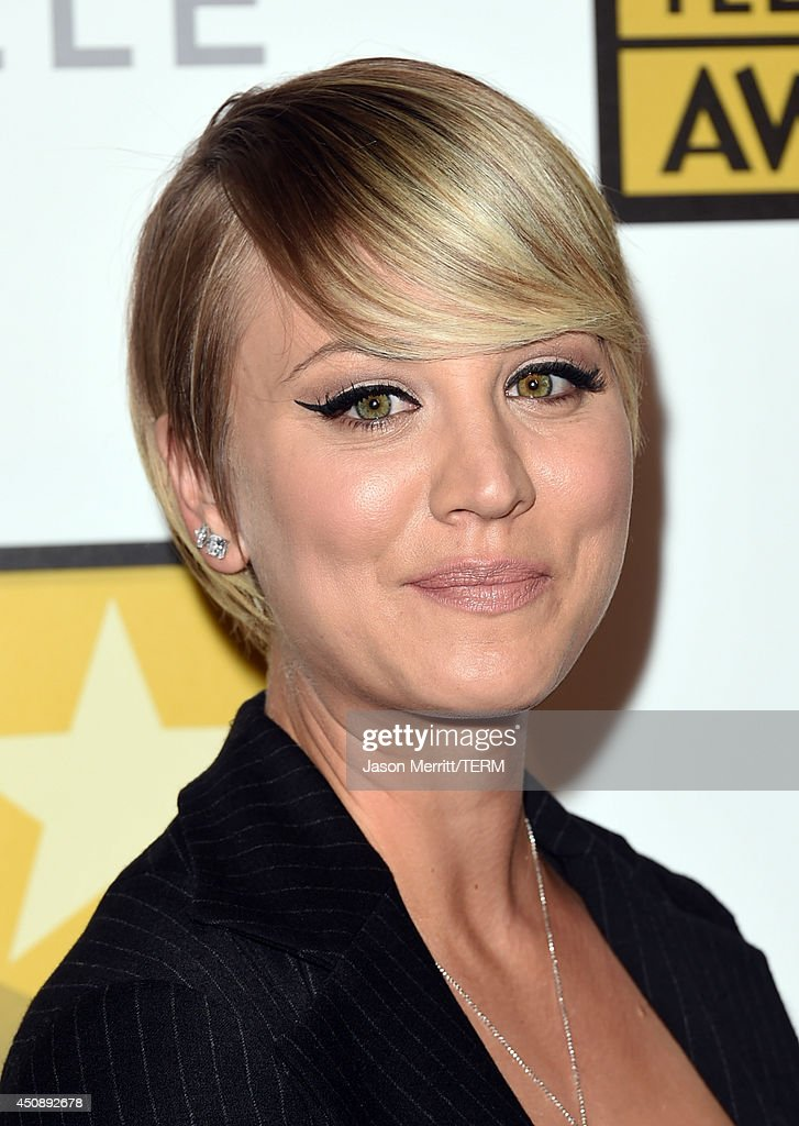 Actress <a gi-track='captionPersonalityLinkClicked' href=/galleries/search?phrase=Kaley+Cuoco&family=editorial&specificpeople=208988 ng-click='$event.stopPropagation()'>Kaley Cuoco</a> attends the 4th Annual Critics' Choice Television Awards at The Beverly Hilton Hotel on June 19, 2014 in Beverly Hills, California.