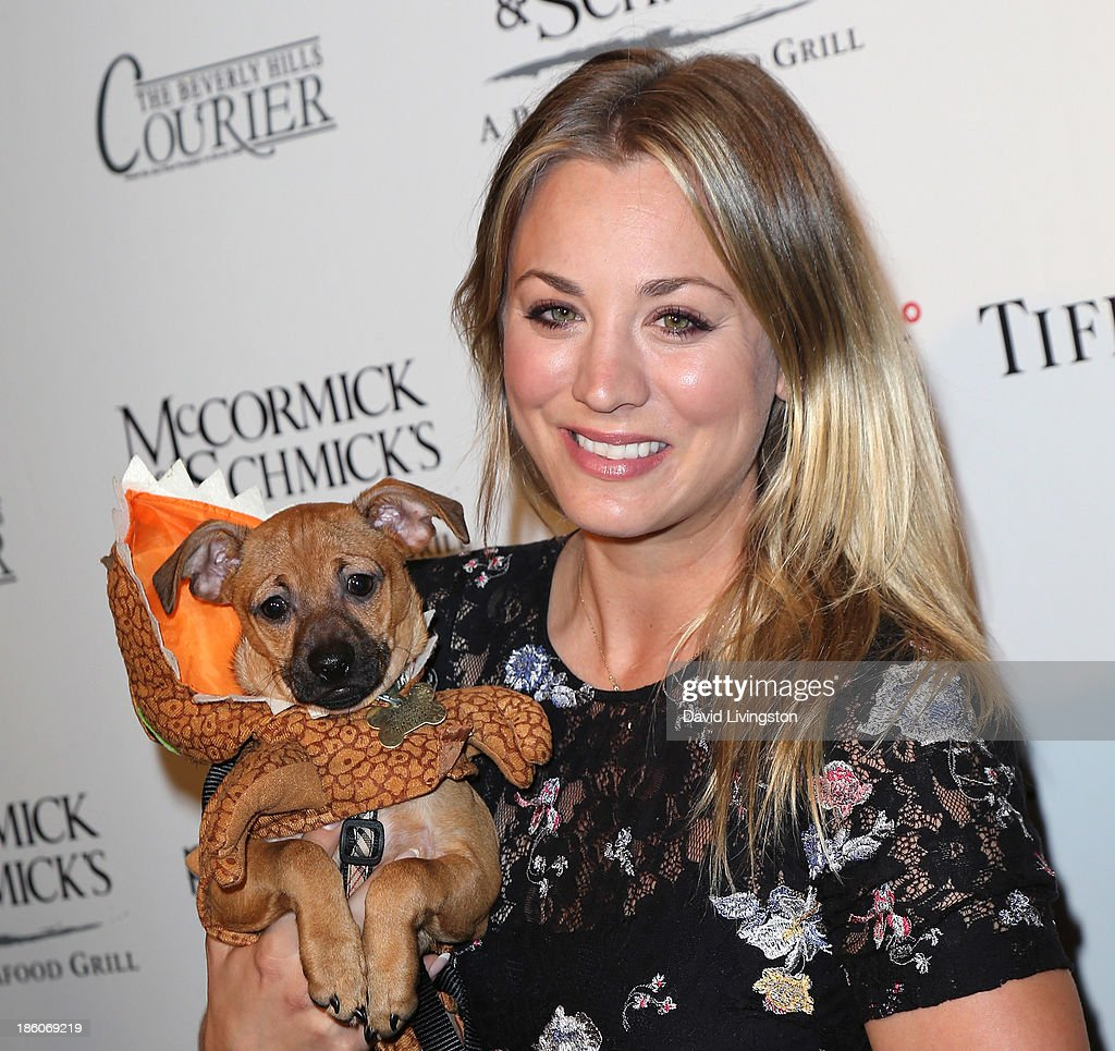 Actress <a gi-track='captionPersonalityLinkClicked' href=/galleries/search?phrase=Kaley+Cuoco&family=editorial&specificpeople=208988 ng-click='$event.stopPropagation()'>Kaley Cuoco</a> attends the Amanda Foundation's Annual Bow Wow Beverly Hills Halloween event at Two Rodeo on October 27, 2013 in Beverly Hills, California.