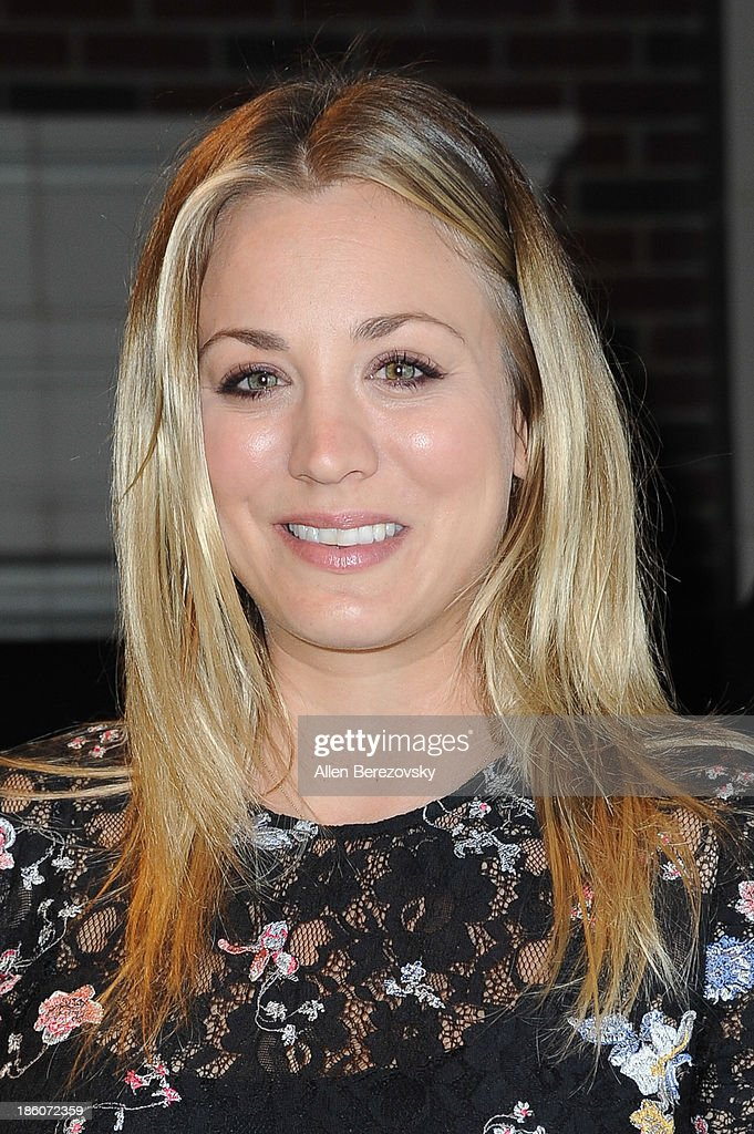 Actress <a gi-track='captionPersonalityLinkClicked' href=/galleries/search?phrase=Kaley+Cuoco&family=editorial&specificpeople=208988 ng-click='$event.stopPropagation()'>Kaley Cuoco</a> attends the Amanda Foundation's annual 'Bow Wow Beverly Hills' Halloween Event at Two Rodeo on October 27, 2013 in Beverly Hills, California.