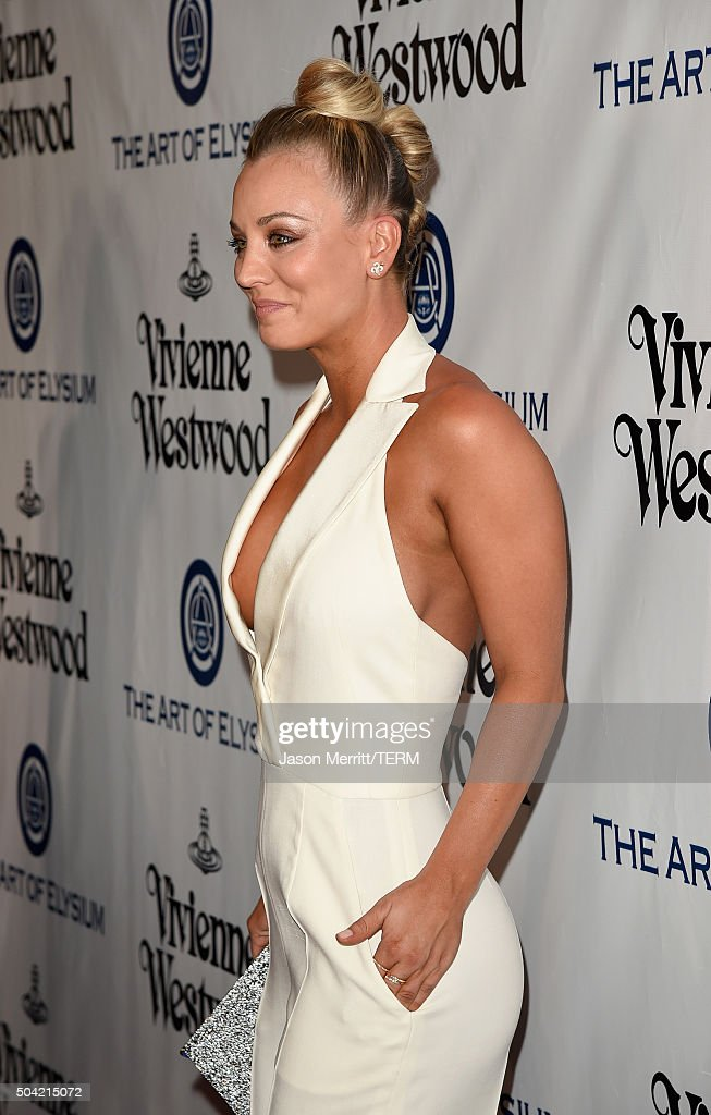 Kaley Cuoco getty images