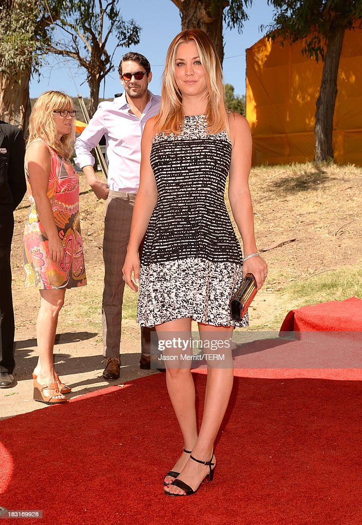 Actress <a gi-track='captionPersonalityLinkClicked' href=/galleries/search?phrase=Kaley+Cuoco&family=editorial&specificpeople=208988 ng-click='$event.stopPropagation()'>Kaley Cuoco</a> attends The Fourth-Annual Veuve Clicquot Polo Classic, Los Angeles at Will Rogers State Historic Park on October 5, 2013 in Pacific Palisades, California.