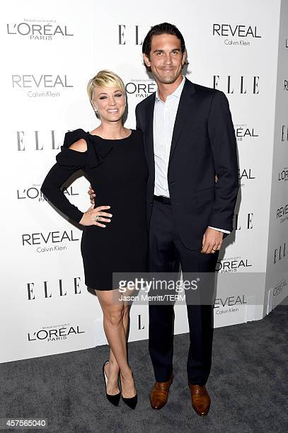 Actress Kaley CuocoSweeting and professional tennis player Ryan Sweeting attend ELLE's 21st Annual Women in Hollywood Celebration at the Four Seasons...