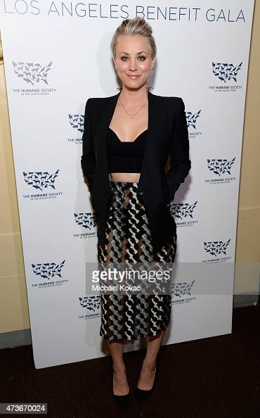 Actress Kaley CuocoSweeting attends The Humane Society Of The United States' Los Angeles Benefit Gala at the Beverly Wilshire Hotel on May 16 2015 in...