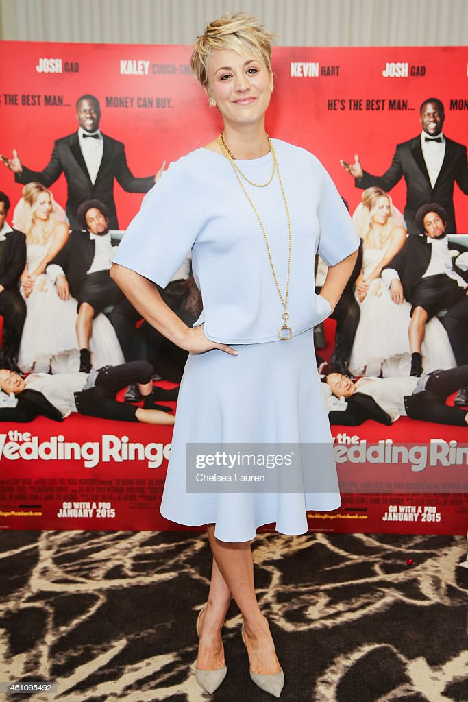 Actress Kaley Cuocosweeting Attends The Wedding Ringer Photo Call At Picture