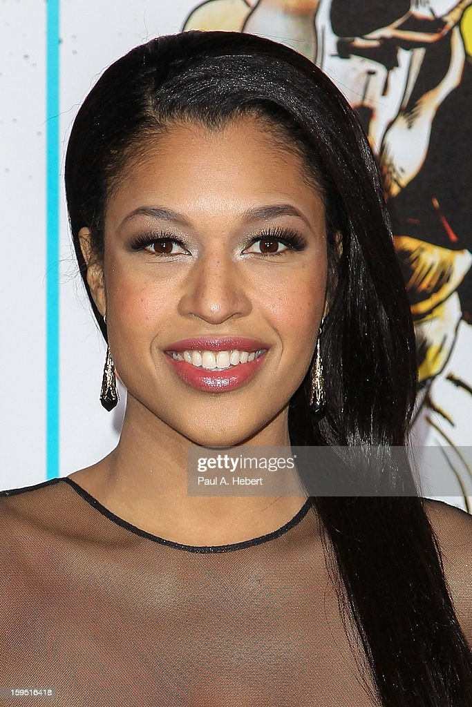 Actress Kali Hawk arrives at the premiere of Lionsgate Films' 'The Last Stand' held at Grauman's Chinese Theatre on January 14, 2013 in Hollywood, California.