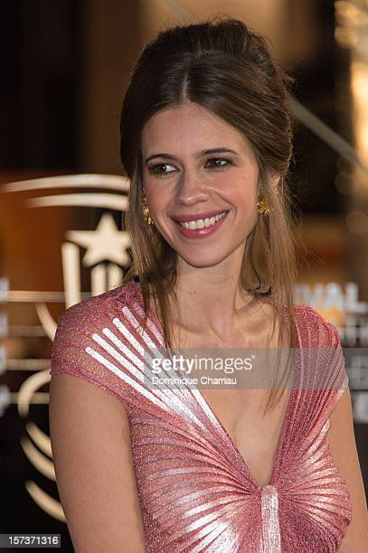Actress Kalki Koechlin arrives to the Tribute To Chinese Director Zhang Yimou during the 12th International Marrakech Film Festival on December 2...