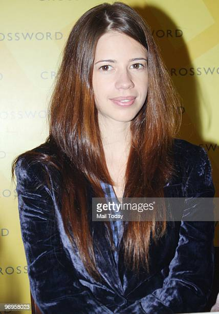 Actress Kalki Koechlin at the launch of the book The Year of The Tiger in Mumbai on February 18 2010