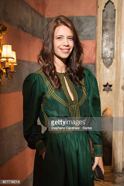 Actress Kalki Koechlin attends the Dior Dinner during the 16th Marrakech International Film Festival on December 4 2016 in Marrakech Morocco