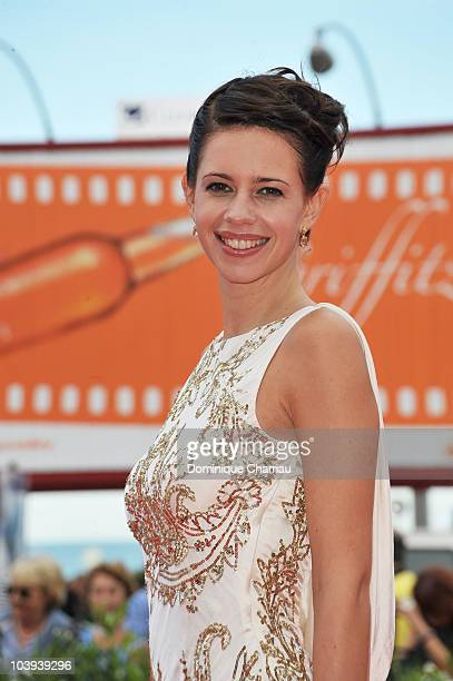 Actress Kalki Koechlin attends the 'That Girl In Yellow Boots' premiere at the Palazzo del Cinema during the 67th Venice International Film Festival...