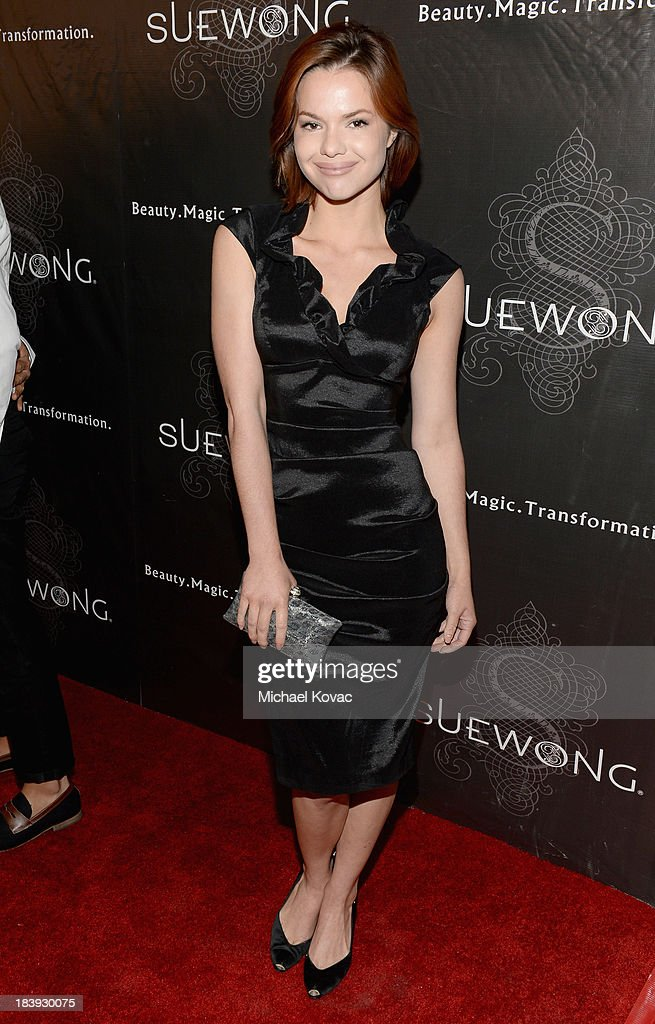 Actress Kalli Thorne attends Sue Wong 'Jazz Babies' Spring 2014 Runway Show on October 9, 2013 in Los Angeles, California.