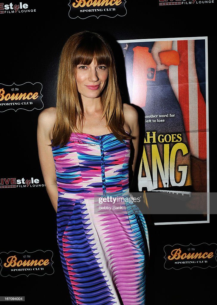 Actress Kandis Erickson attends the 'Farah Goes Bang' after party during the 2013 Tribeca Film Festival at Bounce Sporting Club on April 19, 2013 in New York City.