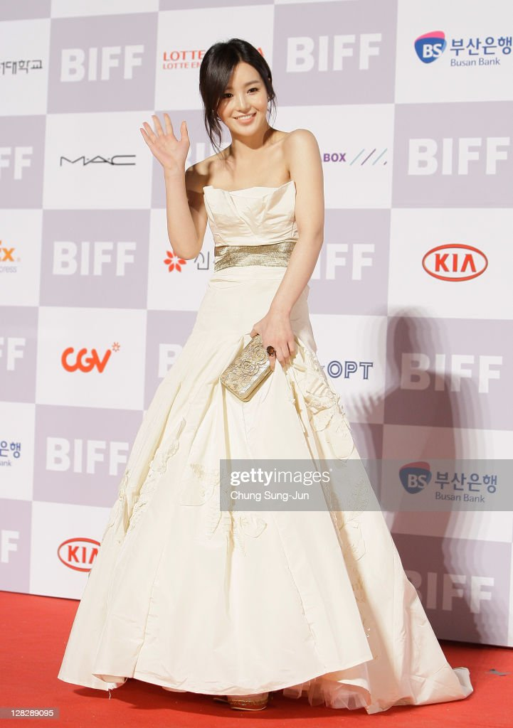 Actress Kang Joo-Ri arrives for the opening ceremony of the 16th Busan International Film Festival (BIFF) at the Busan Cinema Center on October 6, 2011 in Busan, South Korea. The biggest film festival in Asia showcases 307 films from 70 countries and runs from October 6-14.