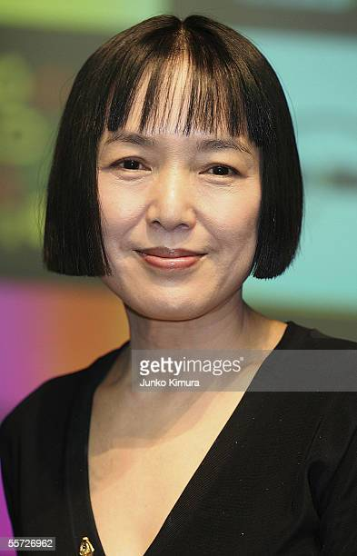 Actress Kaori Momori attends a press conference announcing the lineups and members of the juries for the 18th Tokyo International Film Festival on...
