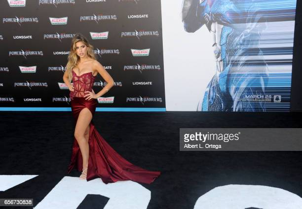 Actress Kara Del Toro arrives for the Premiere Of Lionsgate's 'Power Rangers' held on March 22 2017 in Westwood California