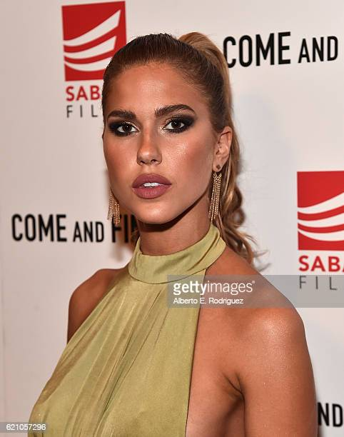 Actress Kara Del Toro attends the premiere of Saban Films' 'Come And Find Me' at Pacific Theatre at The Grove on November 3 2016 in Los Angeles...