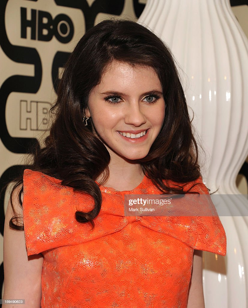 Actress Kara Hayward attends HBO's 70th Annual Golden Globes after party at Circa 55 Restaurant on January 13, 2013 in Los Angeles, California.