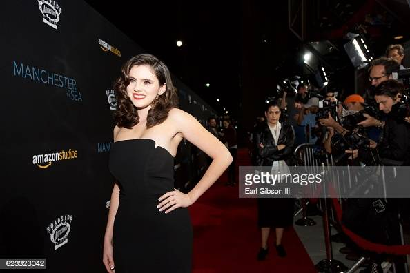 Actress Kara Hayward attends the Premiere Of Amazon Studios 'Manchester By The Sea' at Samuel Goldwyn Theater on November 14 2016 in Beverly Hills...