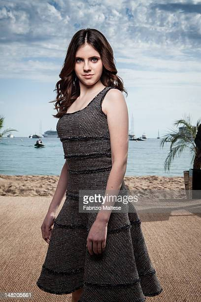 Actress Kara Hayward is photographed for The Hollywood Reporter on May 18 2012 in Cannes France ON US EMBARGO UNTIL AUGUST 15 2012