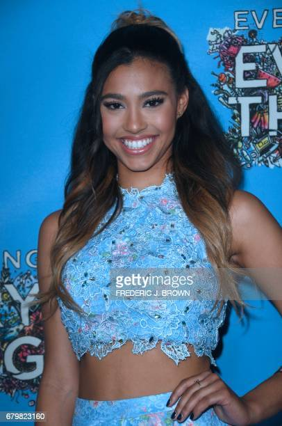 Actress Kara Royster arrives for the premiere of the film 'Everything Everything' in Hollywood California on May 6 2017 J BROWN