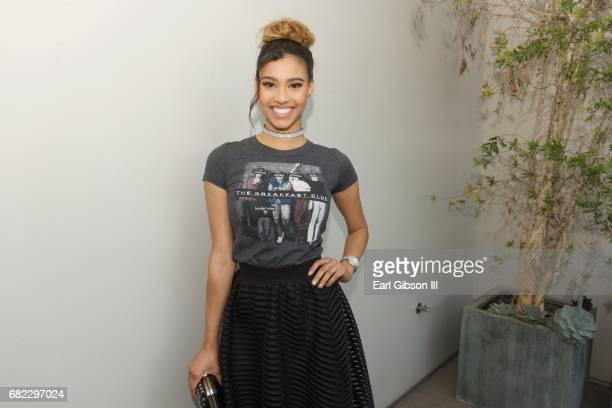 Actress Kara Royster attends Tyler Shields 'Provocateur' Opening at Leica Store and Gallery Los Angeles on May 11 2017 in Los Angeles California