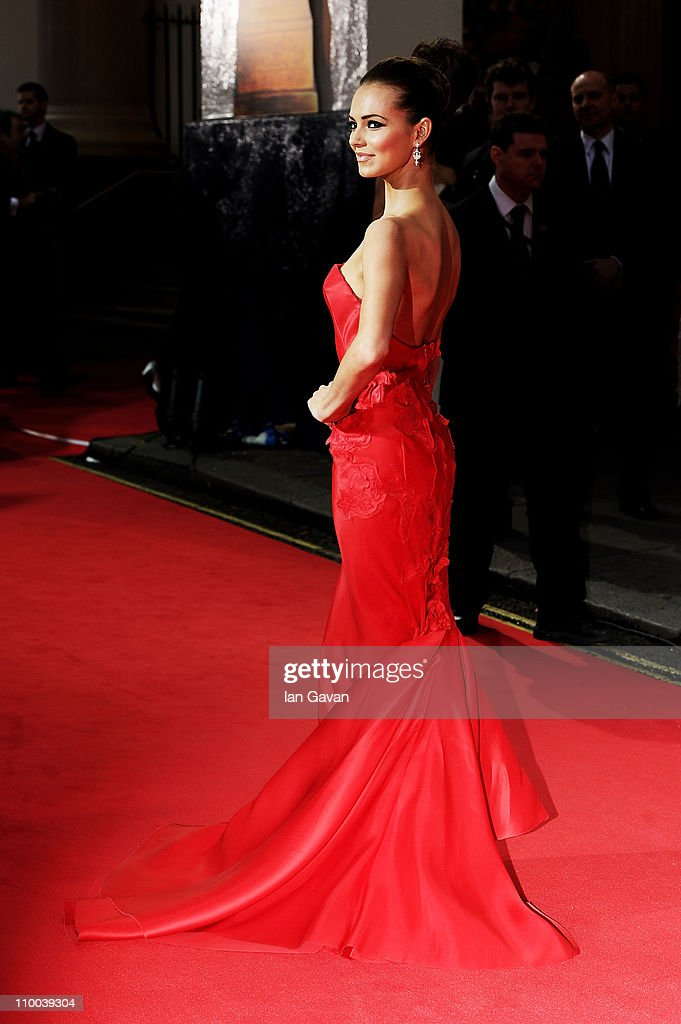 Actress Kara Tointon attends The Olivier Awards 2011 at Theatre Royal on March 13, 2011 in London, England.