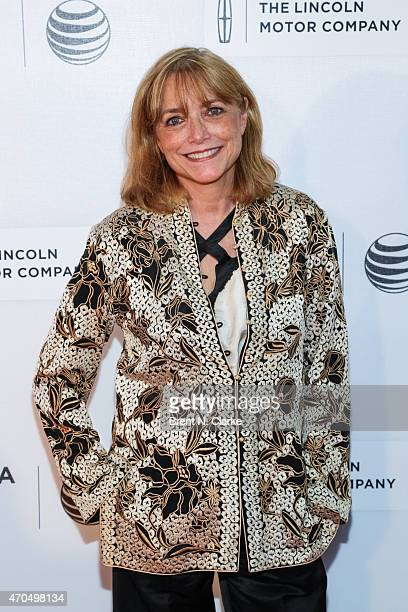Actress Karen Allen arrives for the premiere of 'Bad Hurt' during the 2015 Tribeca Film Festival held at Regal Battery Park 11 on April 20 2015 in...