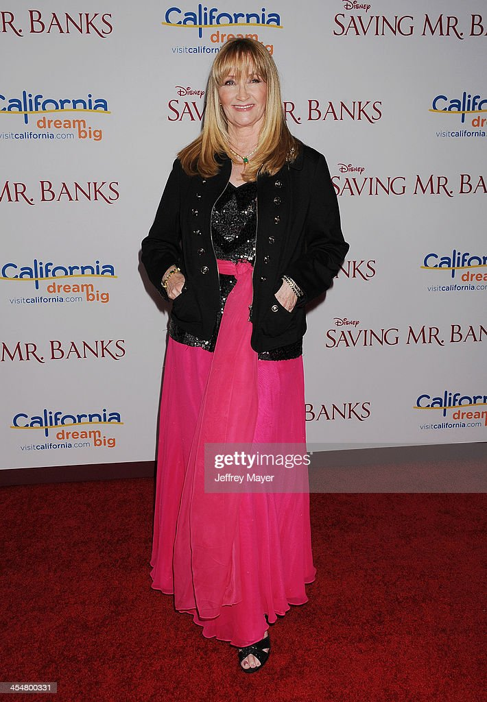 Actress <a gi-track='captionPersonalityLinkClicked' href=/galleries/search?phrase=Karen+Dotrice&family=editorial&specificpeople=632487 ng-click='$event.stopPropagation()'>Karen Dotrice</a> arrives at the 'Saving Mr. Banks' - Los Angeles Premiere at Walt Disney Studios on December 9, 2013 in Burbank, California.
