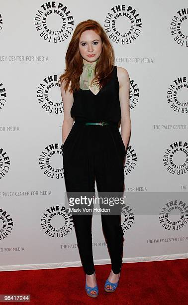 Actress Karen Gillan attend the 'Who's Next The New Era of Doctor Who' screening at the Paley Center For Media on April 12 2010 in New York City