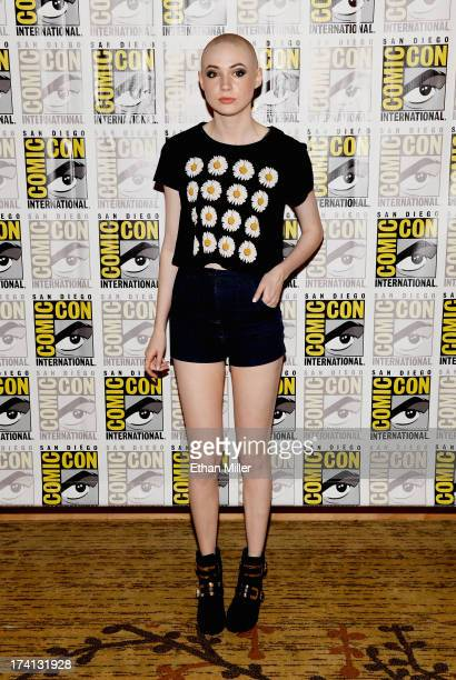 Actress Karen Gillan attends Marvel's 'Guardians of The Galaxy' press line during ComicCon International 2013 at the Hilton San Diego Bayfront Hotel...