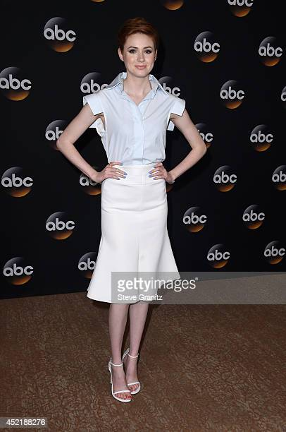 Actress Karen Gillan attends the Disney/ABC Television Group 2014 Television Critics Association Summer Press Tour at The Beverly Hilton Hotel on...