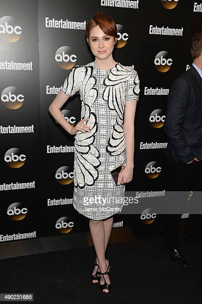 Actress Karen Gillan attends the Entertainment Weekly ABC Upfronts Party at Toro on May 13 2014 in New York City