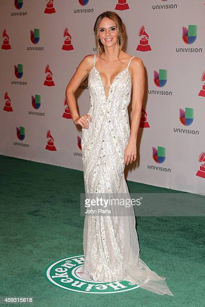 Actress Karen Martinez attends the 15th annual Latin GRAMMY Awards at the MGM Grand Garden Arena on November 20 2014 in Las Vegas Nevada