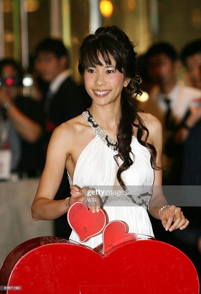 Actress Karen Mok attends the Jin Jue Award Awarding Ceremony and 11th Shanghai International Film Festival Closing Ceremony at the Shanghai Grand Theatre on June 22, 2008 in Shanghai, China.