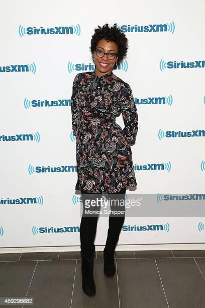 Actress Karen Pittman visits SiriusXM Studios on November 20 2014 in New York City