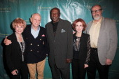 Actress Karen SharpeKramer actor Rick O'Barry actor Louis Gossett Jr Kat Kramer and screenwriter Rick Overton attend Kat Kramer's Films That Change...